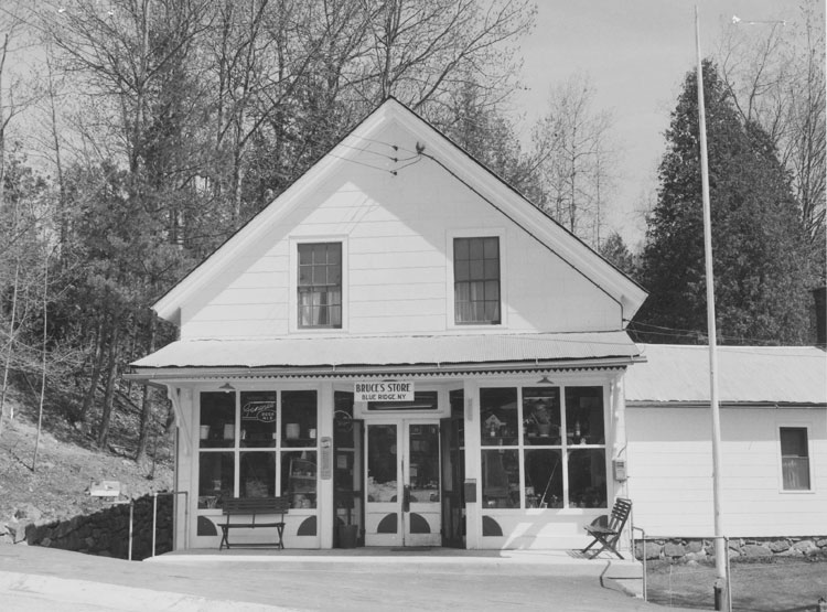 Bruce's Store, Blue Ridge Road - 1966