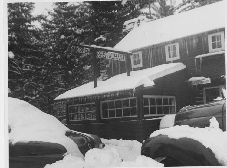 Eagle's Grey Goose Restaurant - 1954
