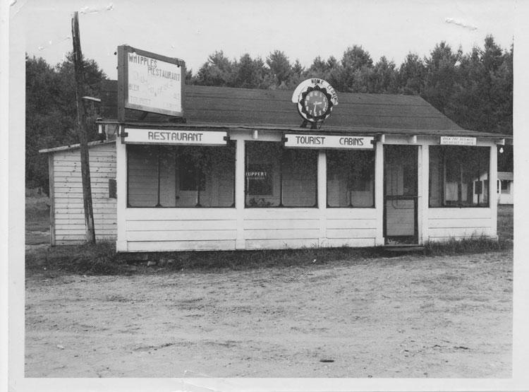 Whipples Restaurant, 1951