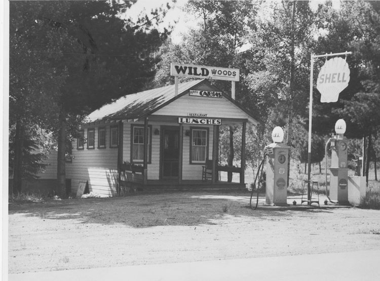 Wildwoods Gas Station, c. 1935