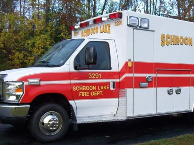 Schroon Lake Fire Department EMS vehicle